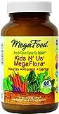 MegaFood Kids N' Us MegaFlora Tablets, 60 Count