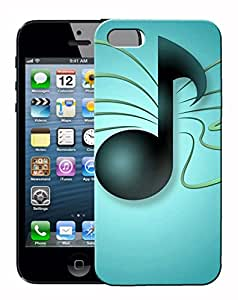 FCS Printed 3D Designer Hard Back Case For Apple iPhone 5 With Universal Mobile Stand