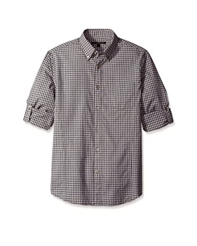 John Varvatos Star USA Men's Long Sleeve Roll Up Shirt