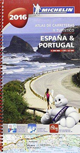 Atlas De Carreteras Y Turístico España & Portugal 2016 (Atlas de carreteras Michelin)