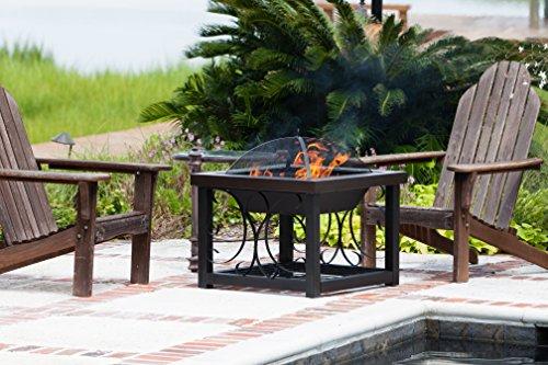 Fire-Sense-Cocktail-Table-Fire-Pit-Hammer-Tone-Bronze-Finish