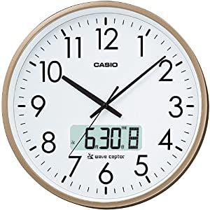 カシオ チャイム付電波クロック IC-2100J-9JF