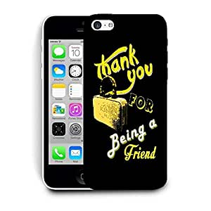 Snoogg Thank You Designer Protective Back Case Cover For IPHONE 5C