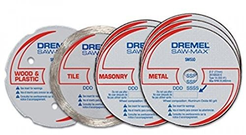 Rotary Tools Dremel SM700 SawMax Cutting Kit, 7Piece, New, (Electric Drywall Saw compare prices)