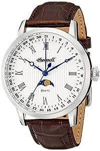 Ingersoll Men's INQ027WHSL Oxford Analog Display Japanese Quartz Brown Watch