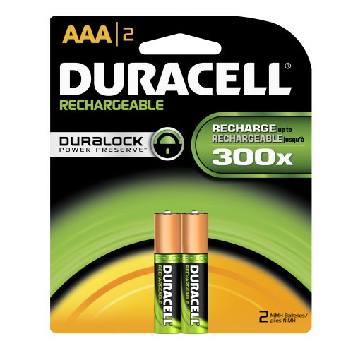 Duracell Dc2400B2N Rechargeable Nimh Battery Pack, Aaa Size, 1.2V, 1000 Mah Capacity (Case Of 24 Cards, 2 Unit Per Card)