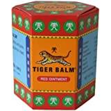 Tiger Balm Red Herbal Rub Muscles Pain Relief Headache 30 G.(big Jar) Amazing of Thailand