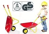 Kinderschubkarre aus Metall mit TÜV