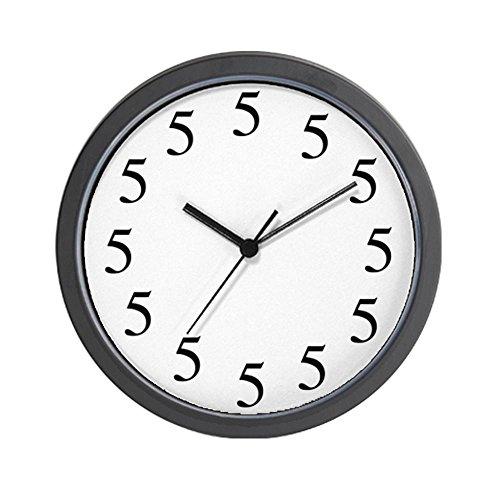 CafePress All Fives Wall Clock - Standard Multi-color