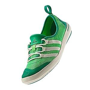 adidas Outdoor climacool Boat Sleek Water Shoe - Women's Green Zest/Chalk/Blaze Green 7.5