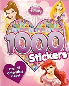 Disney Princess: Activity Book With 1000 Stickers by Downtown