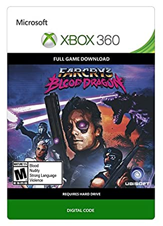 Far Cry 3 Blood Dragon - Xbox 360 Digital Code