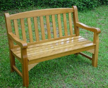 GreatGardensOnline Solid Oak 2 Seater Garden Bench GGOBENCH10