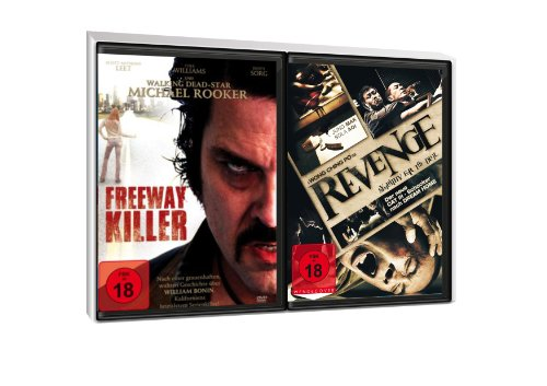 FSK 18 Spar-Set 2 DVDs Serienkiller : Freeway Killer + Revenge- Sympathy For The Devil