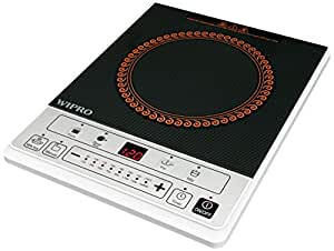 Wipro Cuisino IC0005 1600-Watt Induction Cooktop (Black/White)