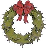 Sizzix Bigz Die - Holiday Wreath by Tim Holtz