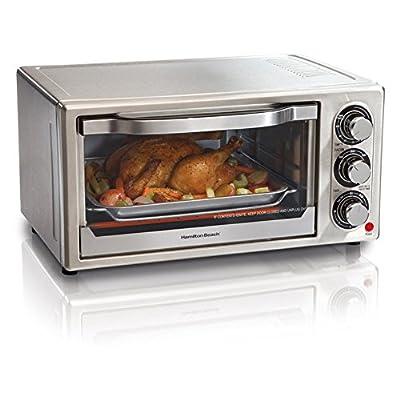 Hamilton Beach 31511 Stainless Steel 6-Slice Toaster Oven by Hamilton Beach