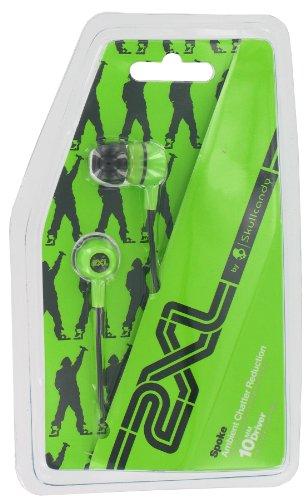 Skullcandy X2Spcz-805 Green And Blue Spoke In Ear Buds
