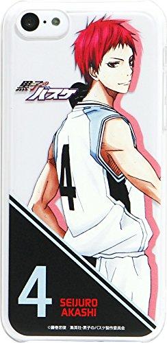 バンダイ 黒子のバスケ iPhone5c対応 キャラクタージャケット キャラクター柄 赤司征十郎 MKR-23G