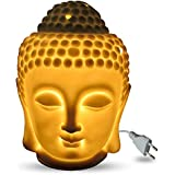 Glossy Finished Electric Buddha Diffuser With 12 Miniature Diffuser Oils Perfect For Gifting Purpose