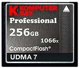 Komputerbay 256GB Professionelle Compact Flash Karte CF 1066X schreiben 155MB