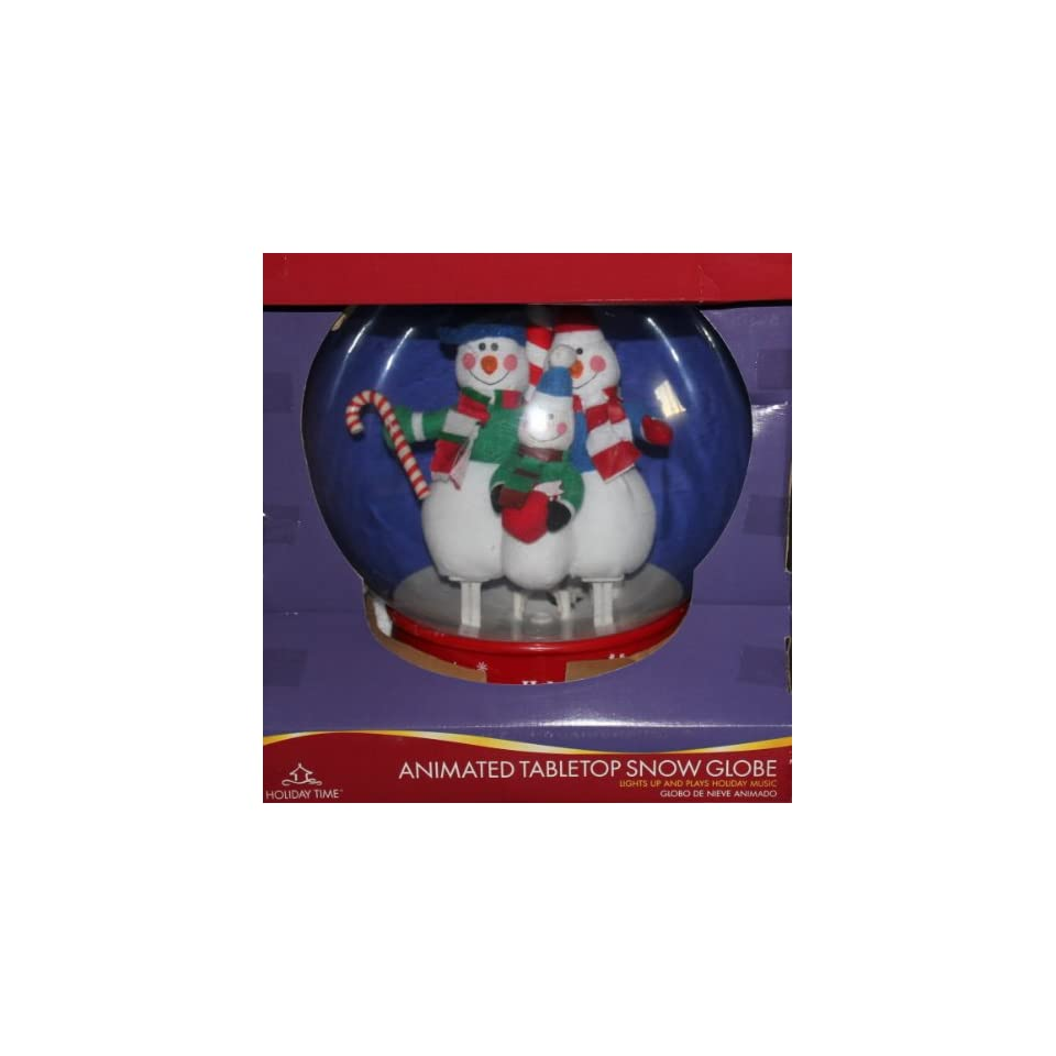 Christmas Musical Snow Globe   11 Inches Tabletop