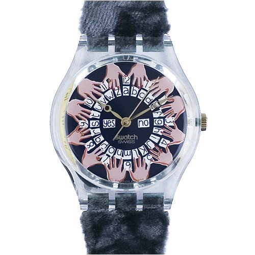 Swatch Vintage Official Timekeeper And Sponsor Of The 1996 Olympic Games Ladies Watch #GG136 1