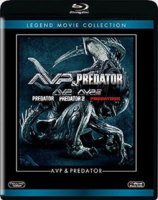 AVP&プレデター ブルーレイコレクション(5枚組) [Blu-ray]