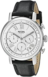 Fossil Buchanan Chronograph Leather Watch