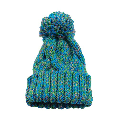 Century Star Unisex Warm Knit Soft Pom-Pom Trendy Hat Cap Beanie Green (Men Camper Life Is Good compare prices)