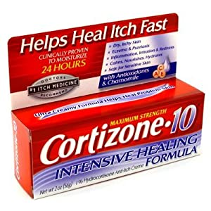 Image: Cortizone 10 Hydrocortisone Anti-Itch Creme - Calms, Nourishes and Hydrates Problem Skin