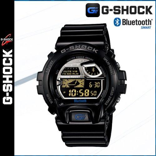 (カシオ) CASIO G-SHOCK 腕時計 (ブラック) GB-6900AA-1JF Bluetooth(R) Low Energy対応 モバイルリンク機能 男女兼用(正規)