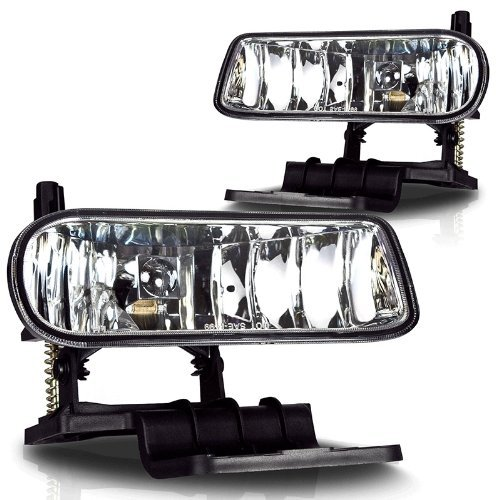 Chevy Replacement Fog Light Assembly - 1-Pair (Silverado 2000 Fog Lights compare prices)