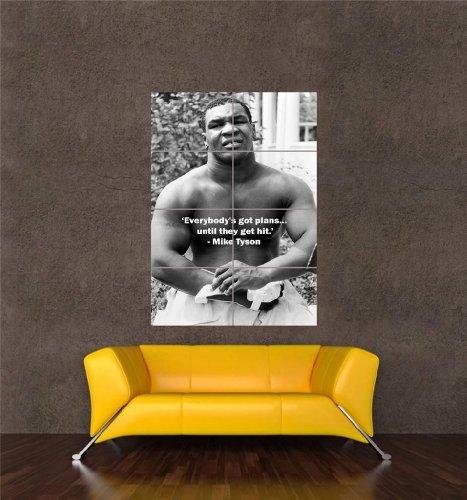 【スポーツ】マイク・タイソン 伝説のボクサー アートプリントポスター  MIKE TYSON BOXING LEGEND OZ334
