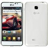 PhoneNatic LG Optimus F5 Hülle Silikon clear X-Style Case Optimus F5 Tasche + Schutzfolien