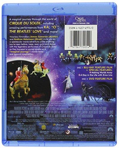 cirque du soleil worlds away bluray 097361700540
