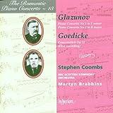Glazunov / Goedicke: Piano Concertos, Romantic Piano Concerto Vol. 13