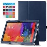 MoKo Etui Samsung GALAXY Note PRO & Tab PRO 12.2 - Etui fin et pliable pour Tablette Samsung Galaxy Note PRO (SM-P9000) & Tab PRO (SM-T900 / T905) 12.2 Android, INDIGO (Avec couverture intelligente réveil/sommeil automatique )