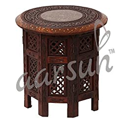 Aarsun Woods Sheesham Wooden Foldable Table