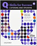 img - for Q: Skills for Success 4 Listening & Speaking Student Book with Student Access Code Card book / textbook / text book