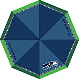 Seattle Seahawks Logo Automatic Umbrella with Compact Light Design at Amazon.com