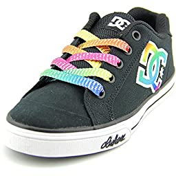 DC Chelsea TX SE Skate Shoe (Little Kid/Big Kid),Black/Multi,11 M US Little Kid