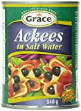 Grace Ackees in Salt Water Cans, 19 Ounce
