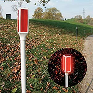 Solar Driveway Marker Red (Pack Of 16)