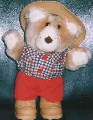 1 X Wendy's Original 1986 Furskins Bear ~ Boone