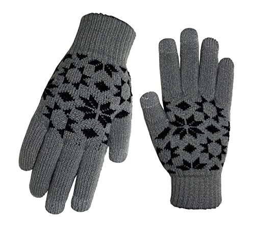 Touch Screen Gloves Dim-Grey L