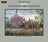Lang Perfect Timing - Lang 2014 Legends In Gray Wall Calendar, January 2014 - December 2014, 13.375 x 24 Inches (1001705)