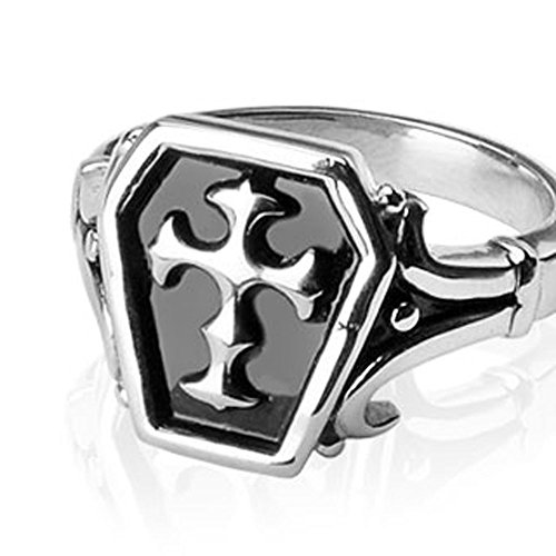 Str-0329 Stainless Steel Celtic Cross Ring (13)