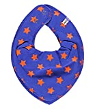 Pippi - Pañuelo para el cuello - para bebé niña Blue-orange talla estándar