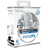 Philips 12972WHVSM WhiteVision Halogen Headlamp Bulb H7/W5W, 12 V